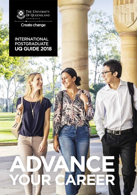 International Postgrad UQ Guide 2018
