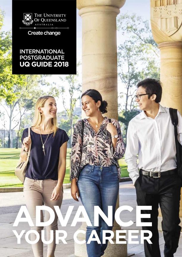 International Postgrad UQ Guide 2018