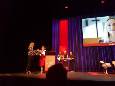 Cecile Godde - Women in STEM award